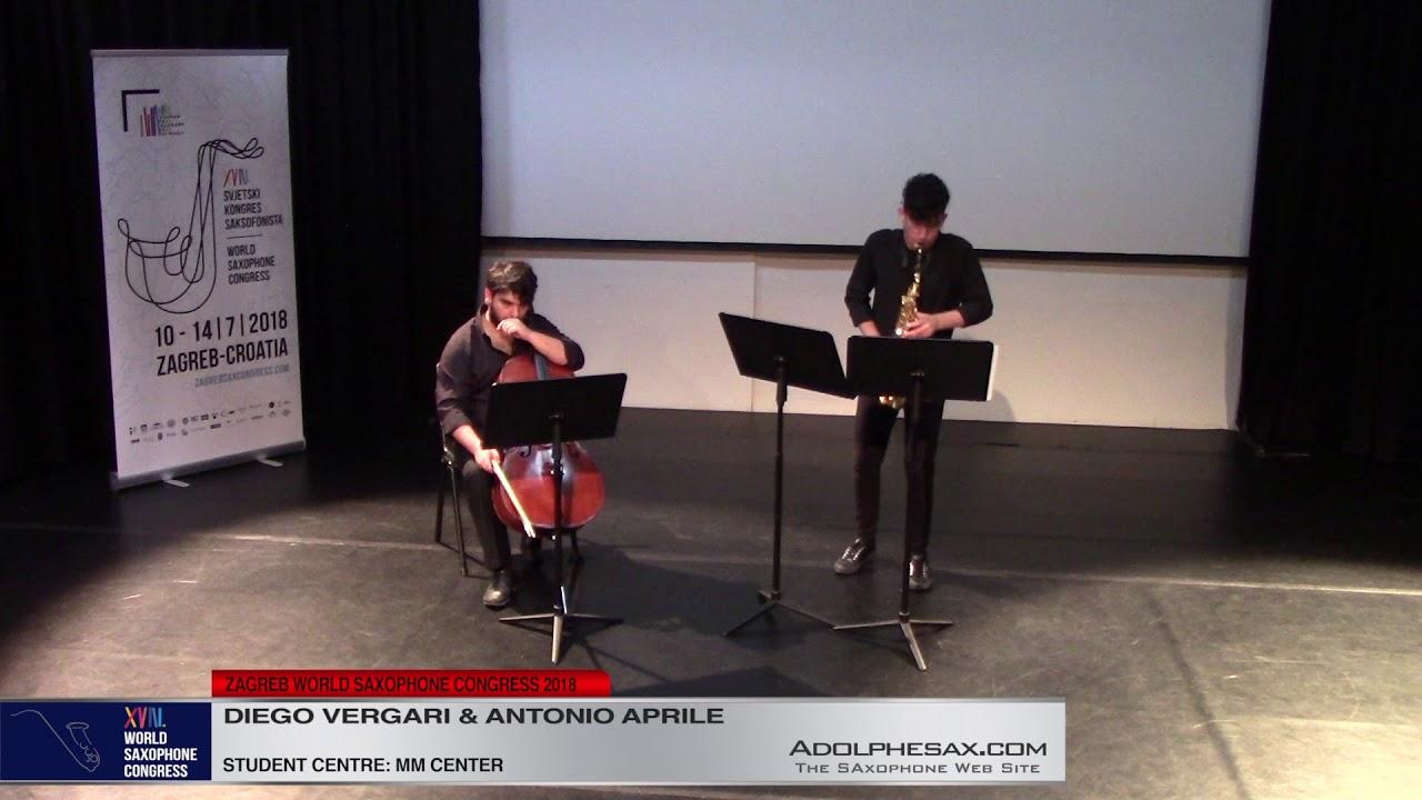 Saxcelle by Guido Donati    Diego Vergari & Antonio Aprile   XVIII World Sax Congress 2018 #adolphes