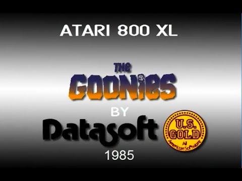 Atari XL/XE - The Goonies [Datasoft] 1985....  (longplay)