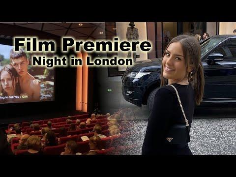 FILM PREMIERE, NIGHT IN LONDON - ALASDAIR MCLELLAN FILM