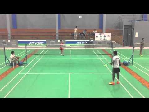 Taufik Hidayat Arena (Jonathan FG (INA) vs Rohul (IND ...