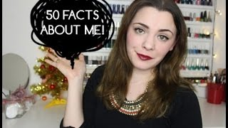 50 facts about ME! |TAG