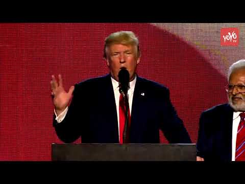 I am a Big Fan of Hindus Says Donald Trump | Trump Full Speech @ #RHC Event | YOYO TV Channel
