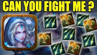 Crystal Maiden INFINITE BOUNCE ATTACK! [Double Hex In One Hero] Ability Draft Dota 2