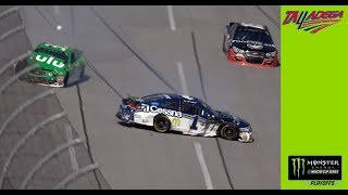 Playoff contender Jamie McMurray wrecks at Talladega