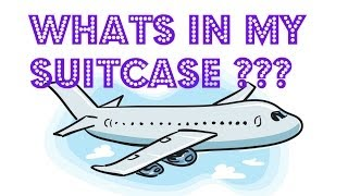 What's In My Suitcase?! + Travel Apps ♡  Europe 2014