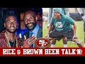 "Live! Antonio Brown Wants To Play For 49ers ""Really Badly""! Kris Kocurek Is New DL Coach"
