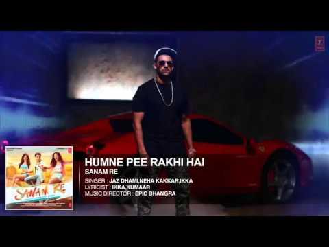 Humne Pee Rakhi Hai AUDIO SONGSANAM REDivya Khosla Kumar, Jaz Dhami, Neha Kakkar, Ikka