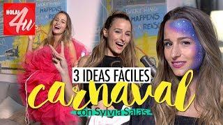 CARNAVAL: 3 ideas fáciles de disfraz    Con Sylvia Salas