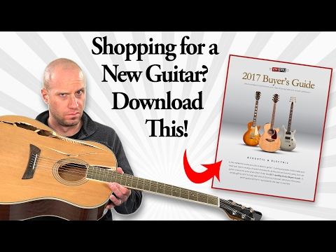 2017 Guitar Buyer's Guide From JamPlay