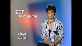 ZDF Programmhinweise Sibylle Nicolai 26.4.1987