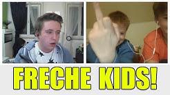 Freche Kinder zeigen Mittelfinger! | Chatroulette #03 (DEUTSCH)