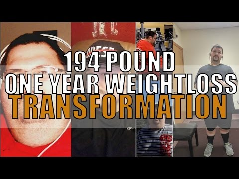 1 YEAR 194 POUND WEIGHT LOSS TRANSFORMATION MIND AND BOD