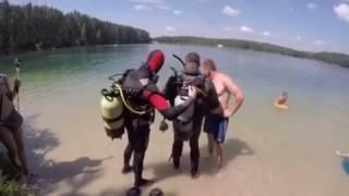 Грибова Рудня(Голубые озёра 2016 погружение под воду., 2016-07-10T05:13:58.000Z)