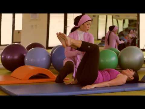 Gerakan Senam Pilates Langsingkan Badan & Mengecilkan Perut