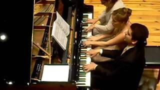 rachmaninoff dos piezas para piano a seis manos 1891