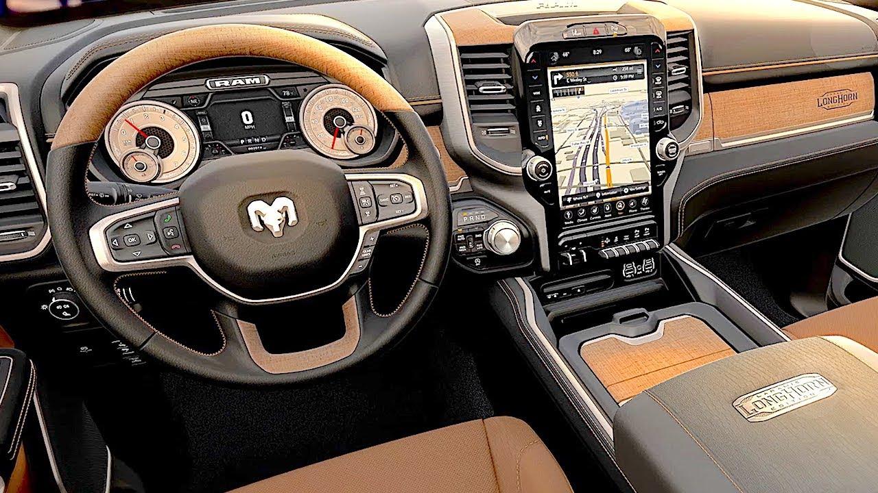 2019 Ram 1500 Laramie Longhorn Interior Luxury Pickup Ram Special