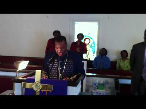 ELDER DAVID B. RHONE.SINGING A.M.E. PREACHER