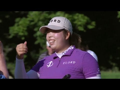 Full interview with Chinese golfer Shanshan Feng