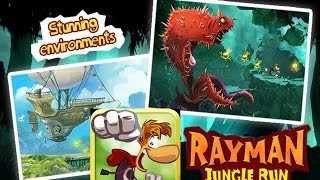 Rayman Jungle Run Ubisoft Android İos Free Game GAMEPLAY VİDEO