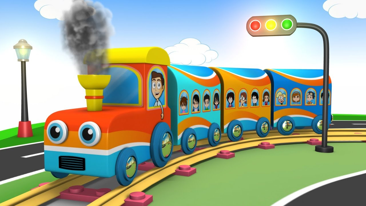 1f62c770b73f Toys for Children - Train Cartoon - Trains for Kids - Choo Choo Train -  Kids Toy Factory - Train