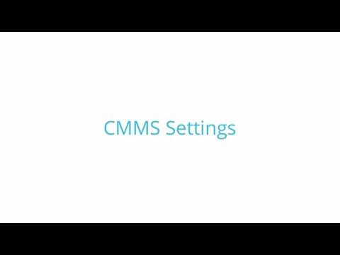 Fiix-CMMS Settings