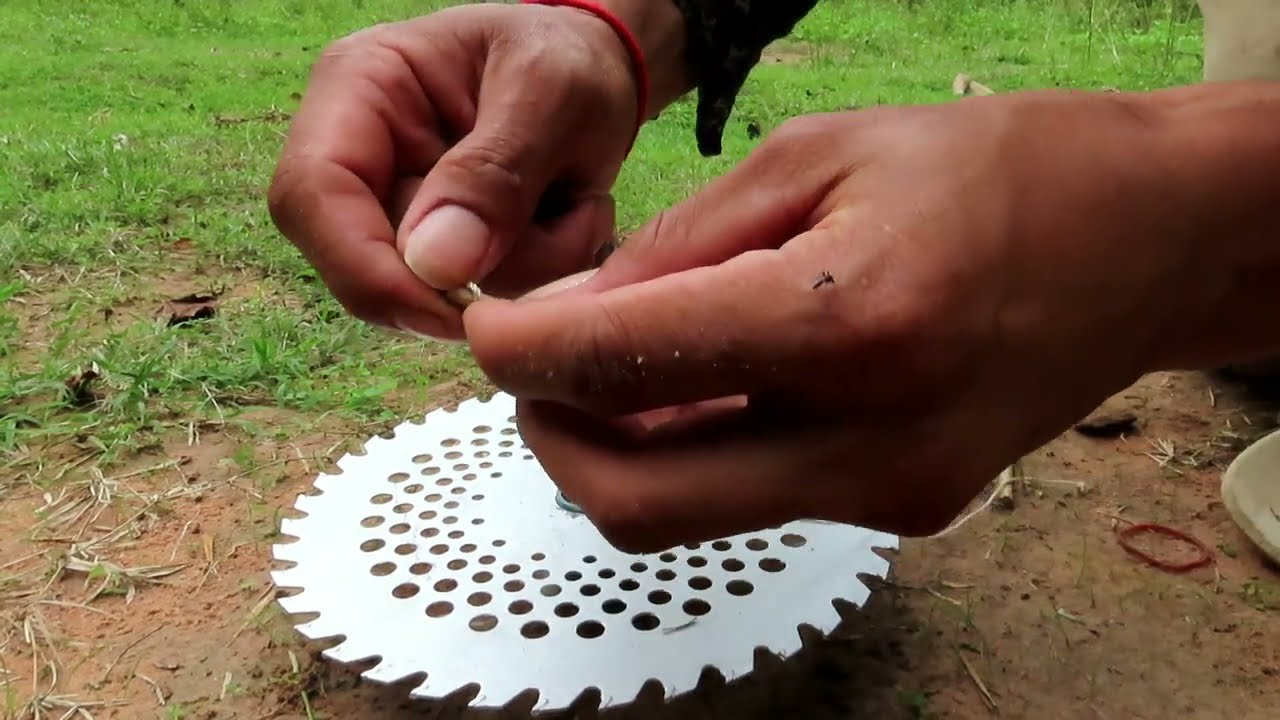 Easy Bird Trap Make From Hand Saw & Cutter - That Work100%.