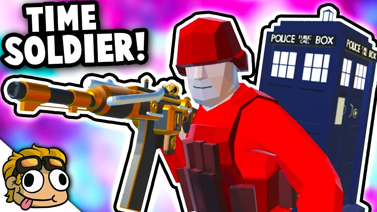 TIME SOLDIER w/ DR  WHO TARDIS! | Ravenfield Mod Gameplay
