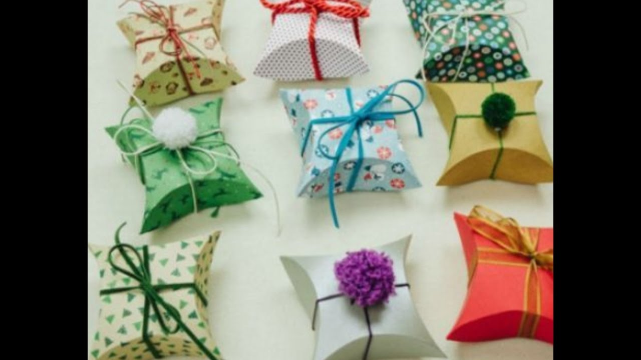 How To Make Gift Box With Paper Diy Crafts Easy Diy Gift Box