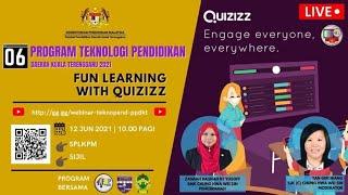 PROGRAM TEKNOPEN PPDKT 06 : FUN LEARNING WITH QUIZIZZ