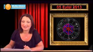 KOVA Burç Yorumu 05 Eylül 2013   Astrolog DEMET BALTACI    , astroloji, astrology