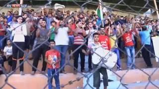 غزة.. إقامة مباراة لكرة القدم رغم الحصار