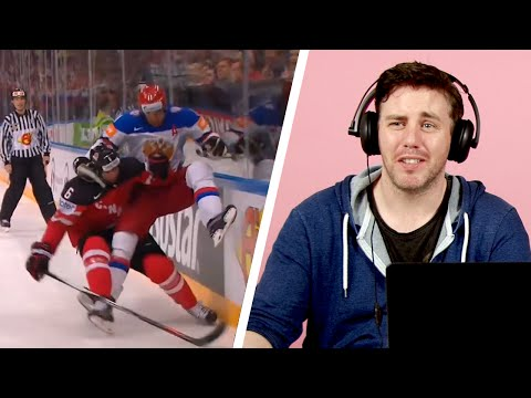 Irish People Watch Ice Hockey For The First Time