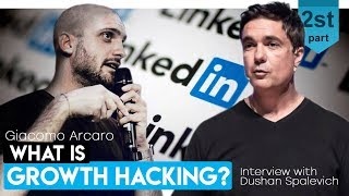 LinkedIn GROWTH HACKING - GIACOMO ARCARO INTERVIEW WITH DUSHAN SPALEVICH FOR iBLOCK TV