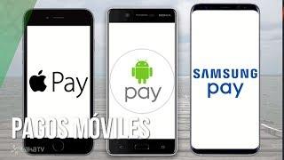 Android Pay, Samsung Pay y Apple Pay: los sistemas de pagos móviles enfrentados