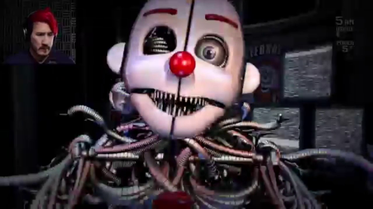 Markiplier FNAF Sister Location Jumpscare Montage Complete ... Markiplier Fnaf