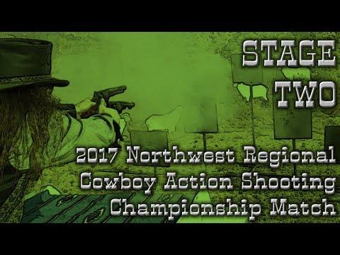 [STAGE 2] 2017 SASS Northwest Regional by FCGF Champion, Jed I. Knight