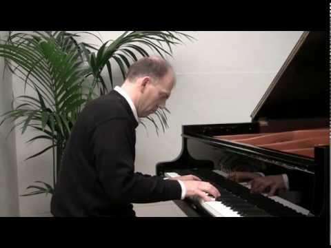 Passacaille de Haendel Piano - F.Bernachon plays Handel's Passacaglia, piano