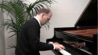Passacaille de  Haendel  piano  /// Frederic Bernachon plays Handel