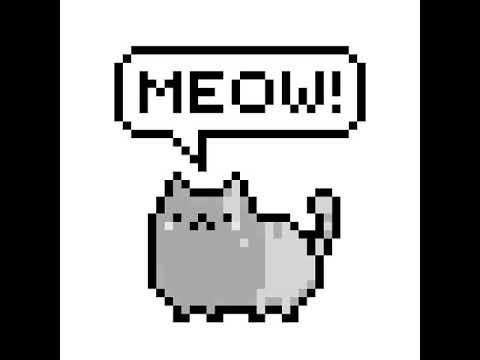 Sevimli Kedi Kare Boyama Youtube