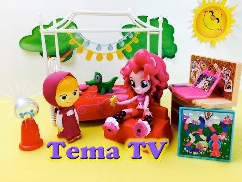 Игры мой маленький пони новый набор кукла Пинки Пай Дружба это чудо!