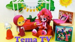Игры мои? маленькии? пони новыи? набор кукла Пинки Паи? Дружба это чудо!