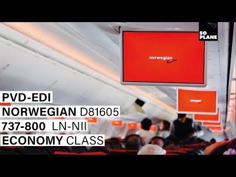 NORWEGIAN AIR | Providence (Boston) - Edinburgh | 737-800 | Full Flight | Trip Report
