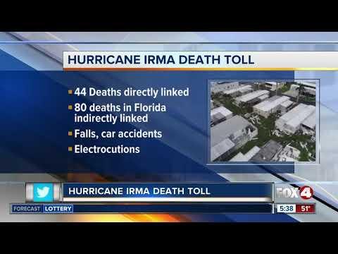 National Hurricane Center updates Hurricane Irma death toll