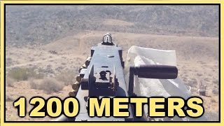 What's it REALLY like to shoot a 50 cal Machine Gun 1200 Meters?