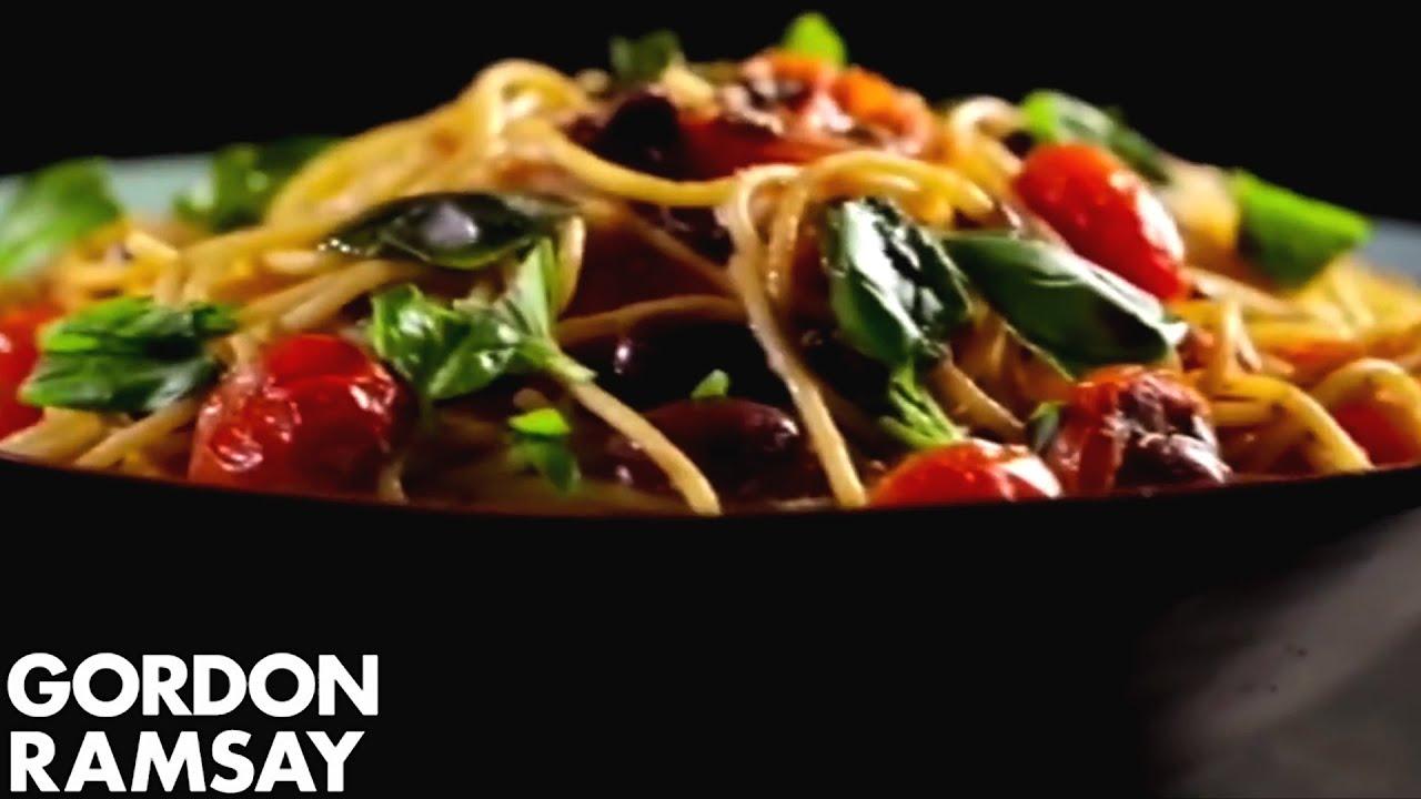 Pasta with Tomato, Anchovy & Chilli | Gordon Ramsay