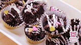 Resepi Cornflakes Coklat | Seminit Resepi