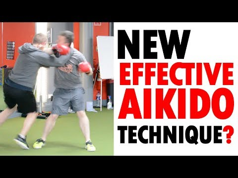 Aikido Fighting | New EFFECTIVE Aikido Technique? • Aikido Quest