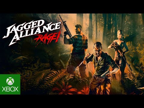 Jagged Alliance: Rage! - Official Launch Trailer thumbnail