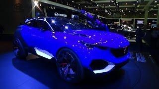Peugeot Quartz Crossover Concept - Exterior and Interior - Auto Show Brussels 2016