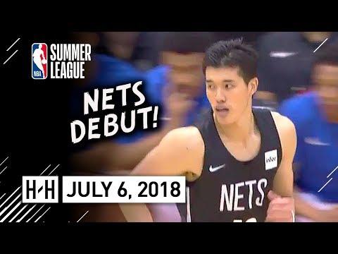 Yuta Watanabe Full Nets Debut Highlights vs Magic (2018.07.06) Summer League - 8 Pts, 2 Blk